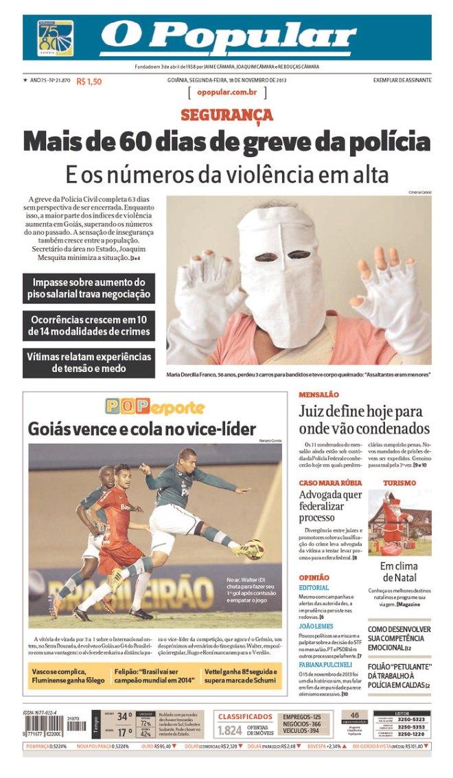 BRA_OP Goiânia greve polícia