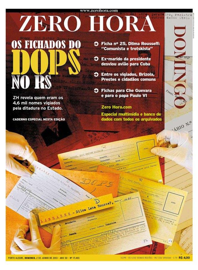 BRA_ZH vigiados fichados ditadura RS