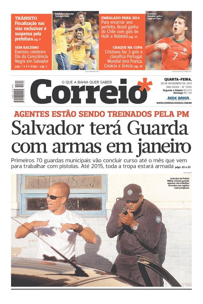 BRA^BA_COR polícia armada guardas Bahia