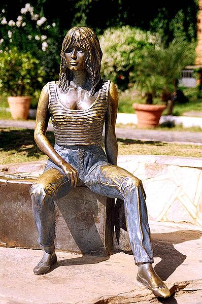 Estátua de Brigitte Bardot em Búzios, Rio de Janeiro