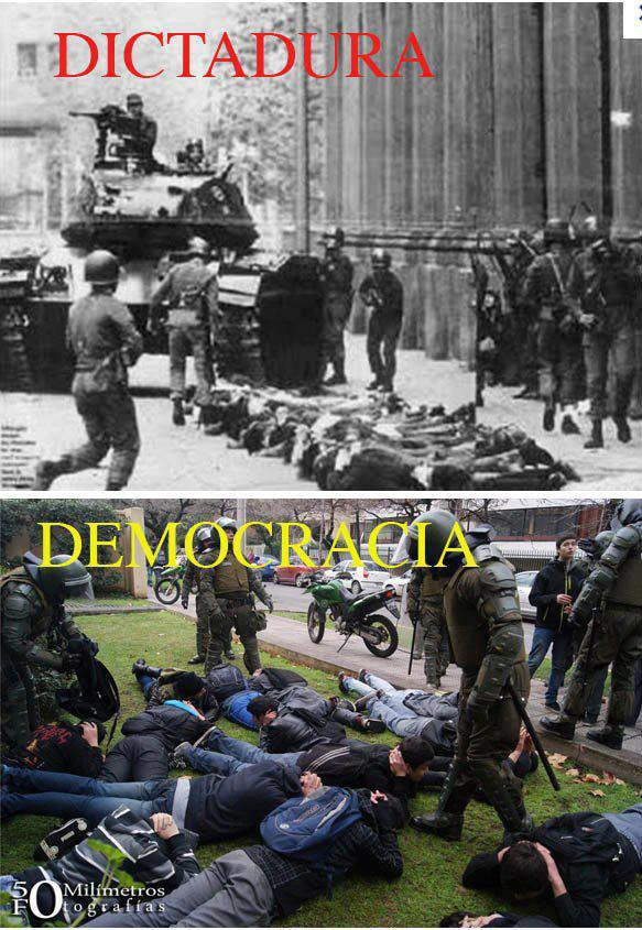 ditadura democracia indignados