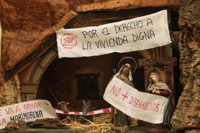 Espanha despejo casa indignados