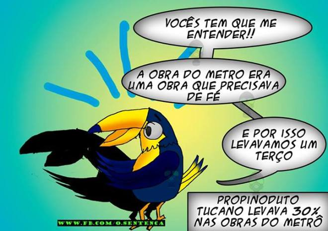 metrô propina tucano PSDB