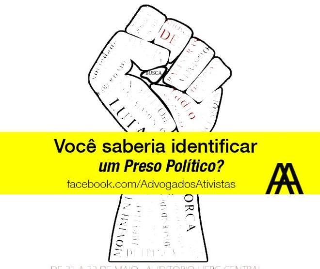 preso político identificação