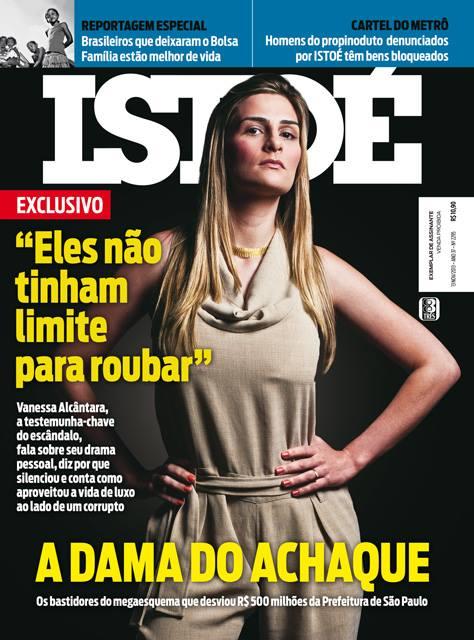 Vanessa Alcântara máfia alvarás São Paulo