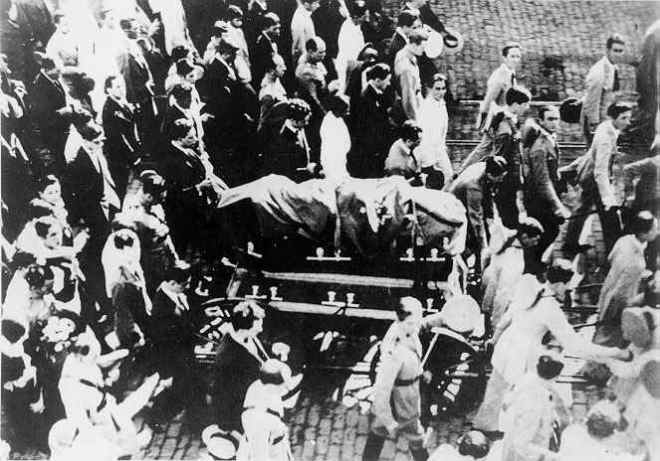 Funeral de João Pessoa na Paraíba