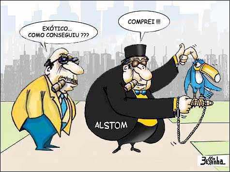 Alstom propina tucano