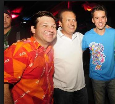 Geraldo Julio, Eduardo Campos e Felipe Carreras