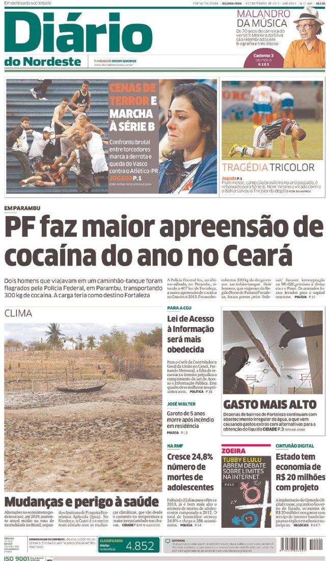 BRA_DN Ceará cocaíca 300 kg