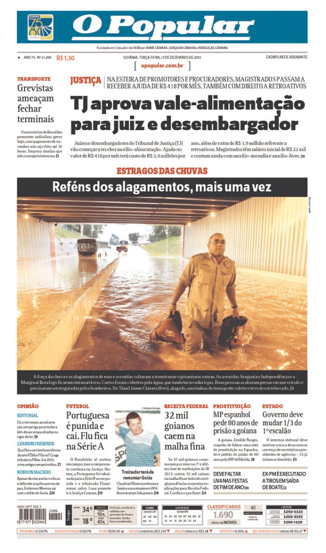 BRA_OP Justica comendo e o povo na chuva