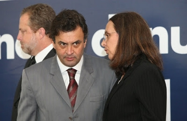 Aécio e Andréa Neves