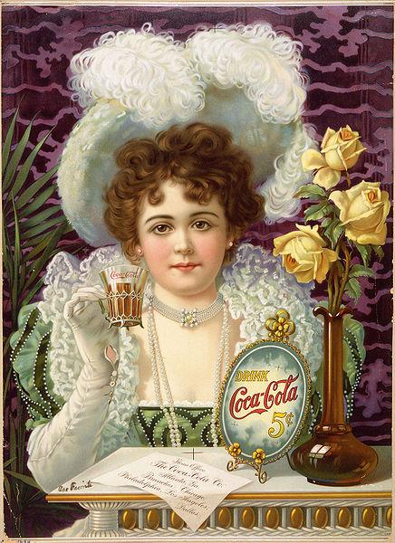 1900, anúncio da Coca-Cola com cocaína
