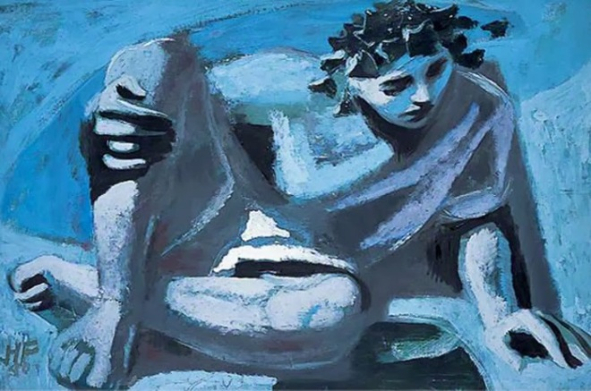 Narciso, por Hans Feibusch