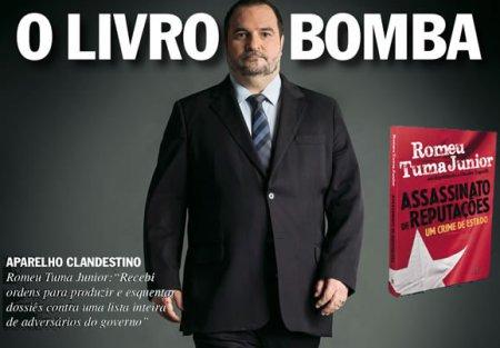 livro bomba retrato tuma