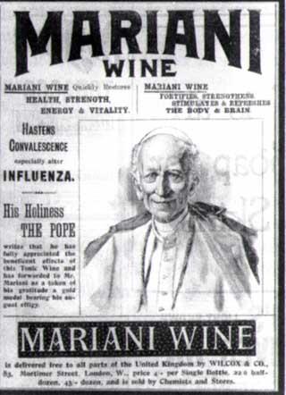 O Papa e a propaganda do drinque milagroso