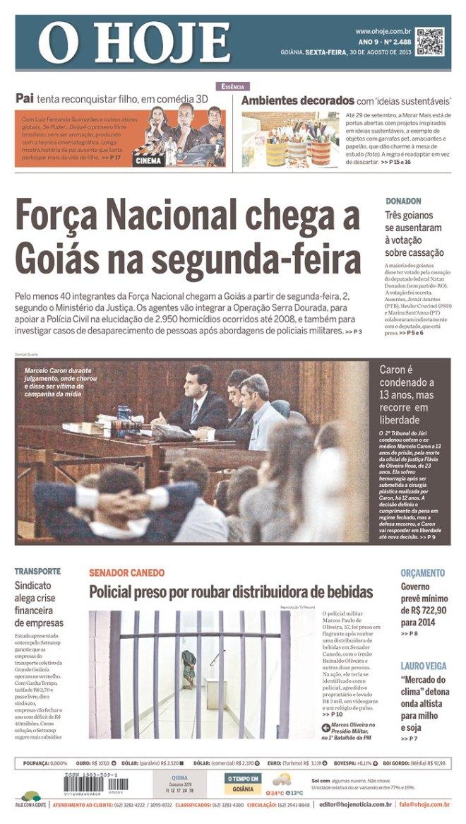 BRA^GO_HOJE Goiás tem 2. 950