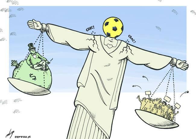 Brasil bola Fifa Cristo Redentor Copa