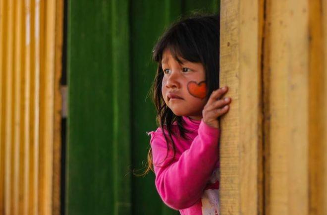 criança índia brasil