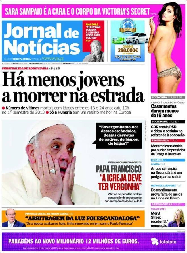 jornal_noticias. papa Portugal
