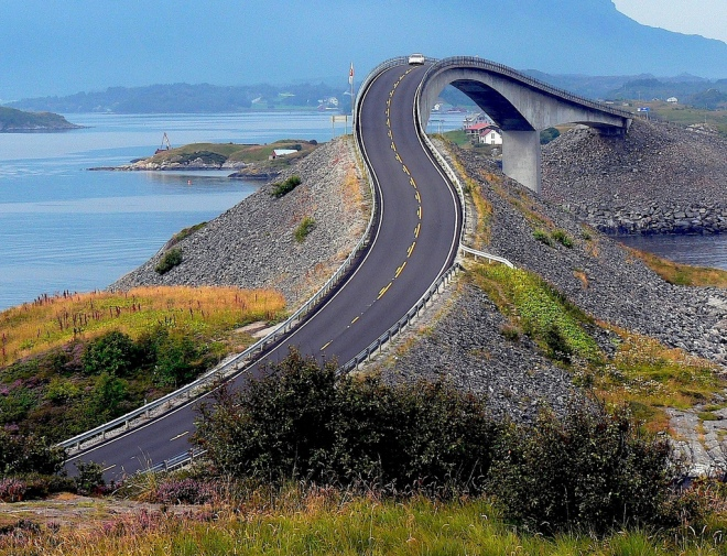 The Atlantic Road, Noruega