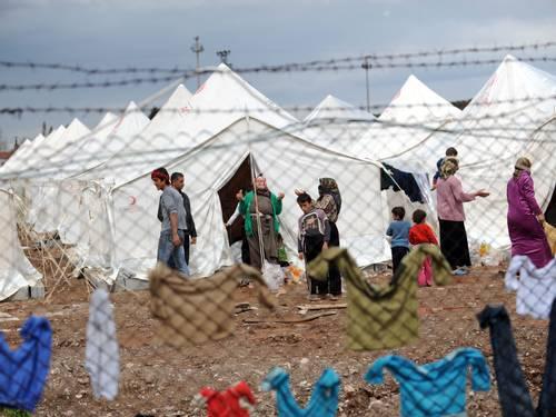 Retirantes da Síria
