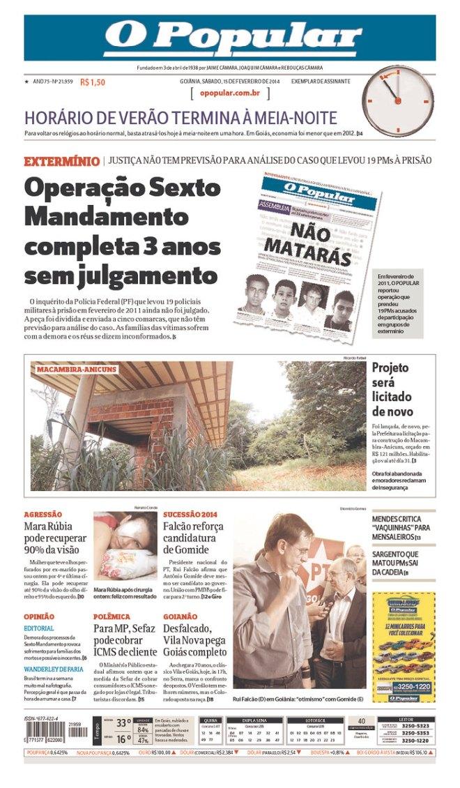 O DIREITO DE MATAR DA POLÍCIA DE GOIÁS