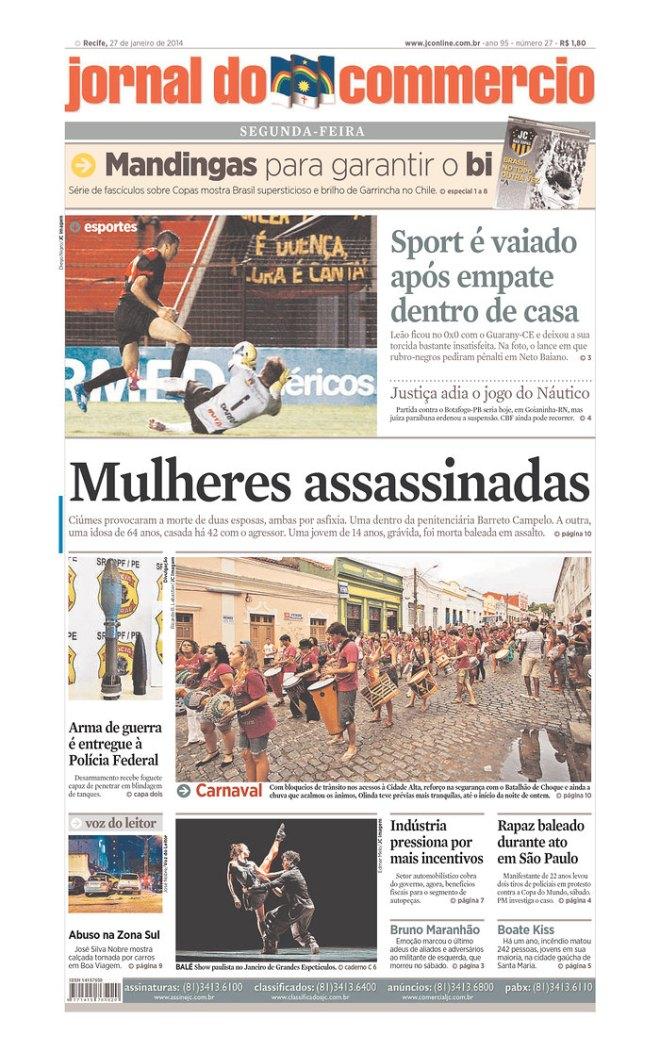 Mulher morta na Penitenciária Barreto Campelo, Recife