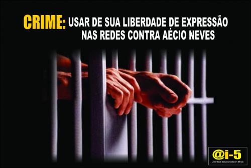 censura nas redes sociais _ prisão de jornalista _ minas sem censura