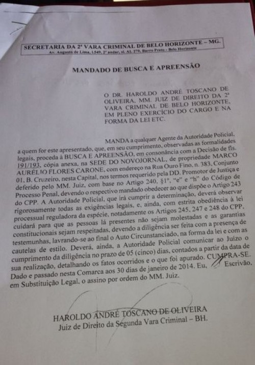 Harondo André Toscano de Oliveira