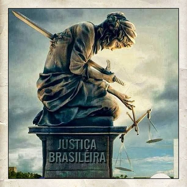 justiça brasileira punhalada