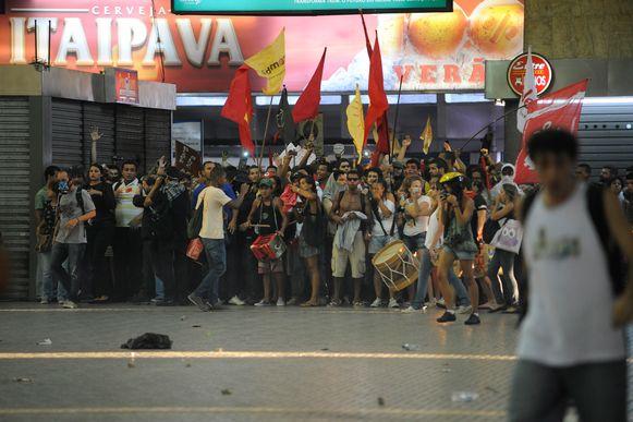 Manifestantes Foto Fernando Frazão