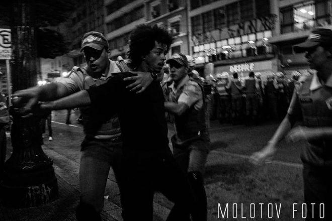 """O mais novo método da Policia Militar já está em ação: a """"tropa do braço"""""""