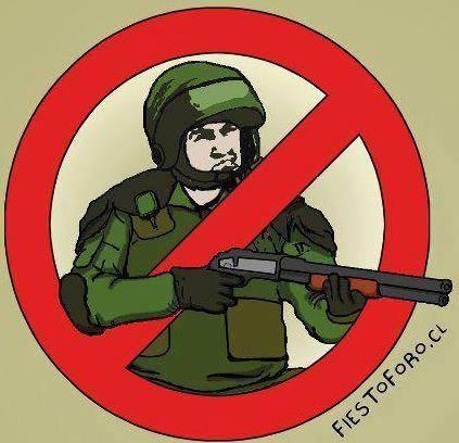 polícia repressão terrorismo
