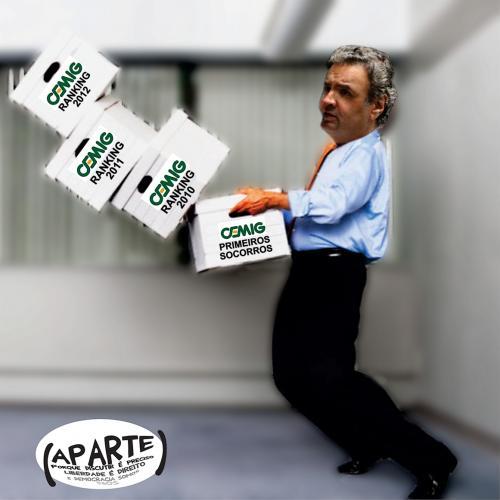 senador Aecio Neves  cemig e privatizacoes - aparte minas sem censura