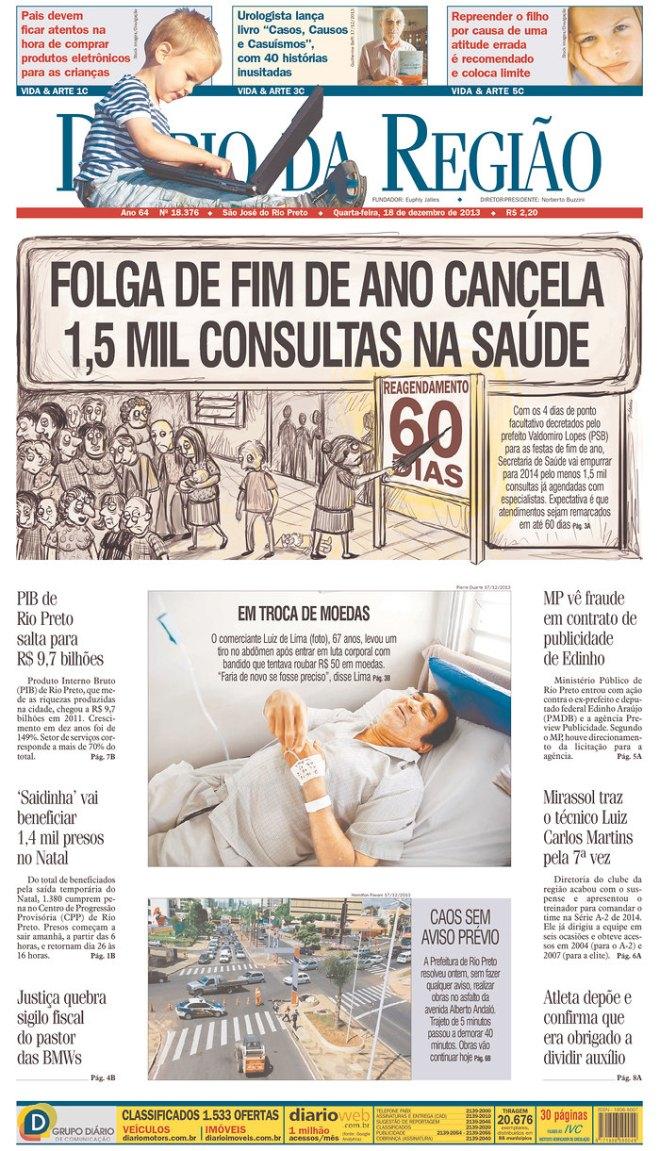 BRA^SP_DDR folga médico S.  Jose do Rio Preto