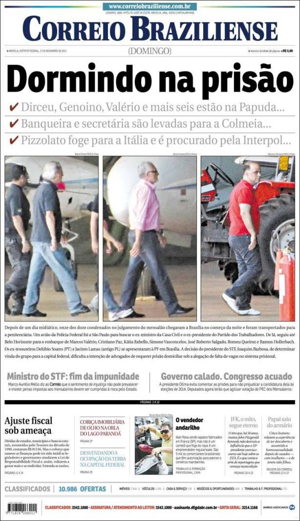 correio_braziliense. mensalão dormir prisão