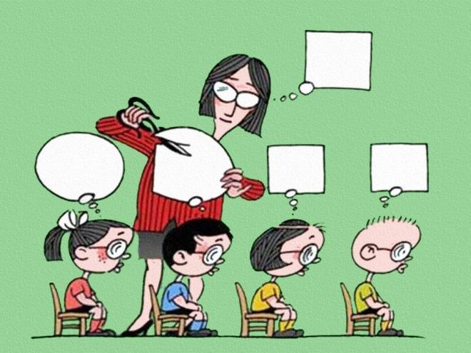 escola pensamento quadrado ensino