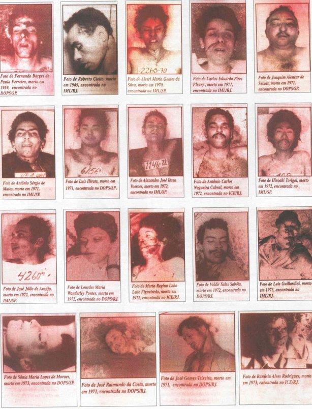 Ditadura: militar diz que arrancava dedos, dentes e vísceras de preso morto