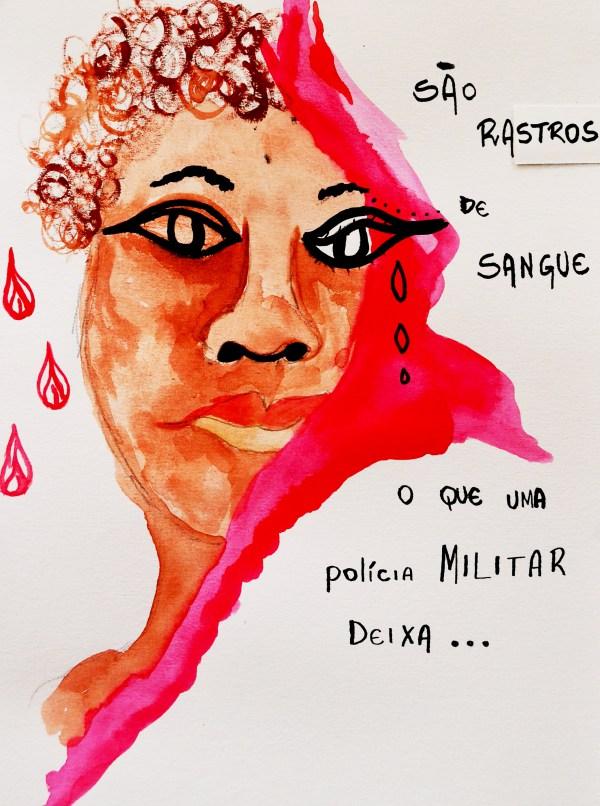 Cláudia, por FLORIDO LA, no blogue OLGA