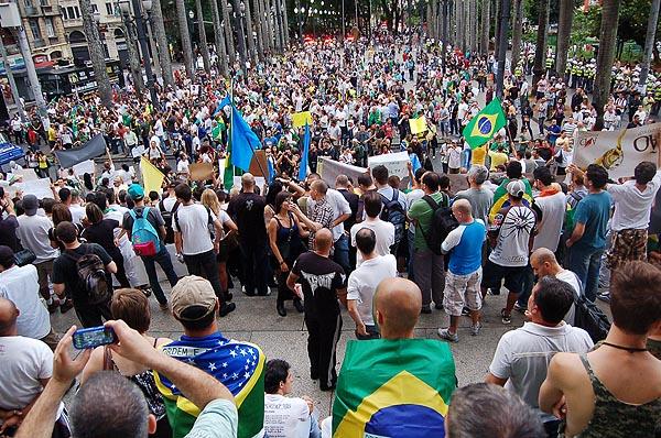 Marcha em São Paulo