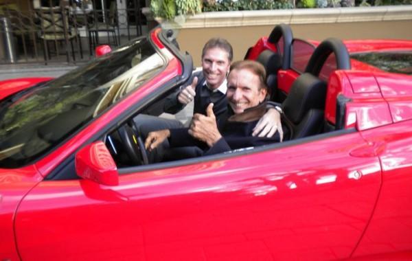 """Rojo Filho e o """"amigo"""" Emerson Fittipaldi"""