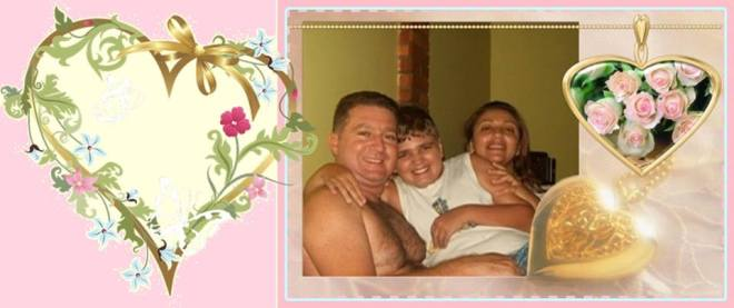 Foto do album da família