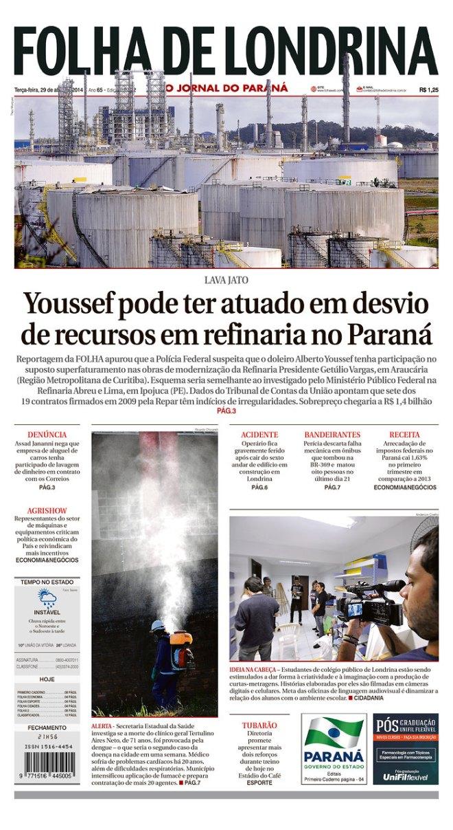 BRA_FDL Youssef comeu dinheiro Paraná