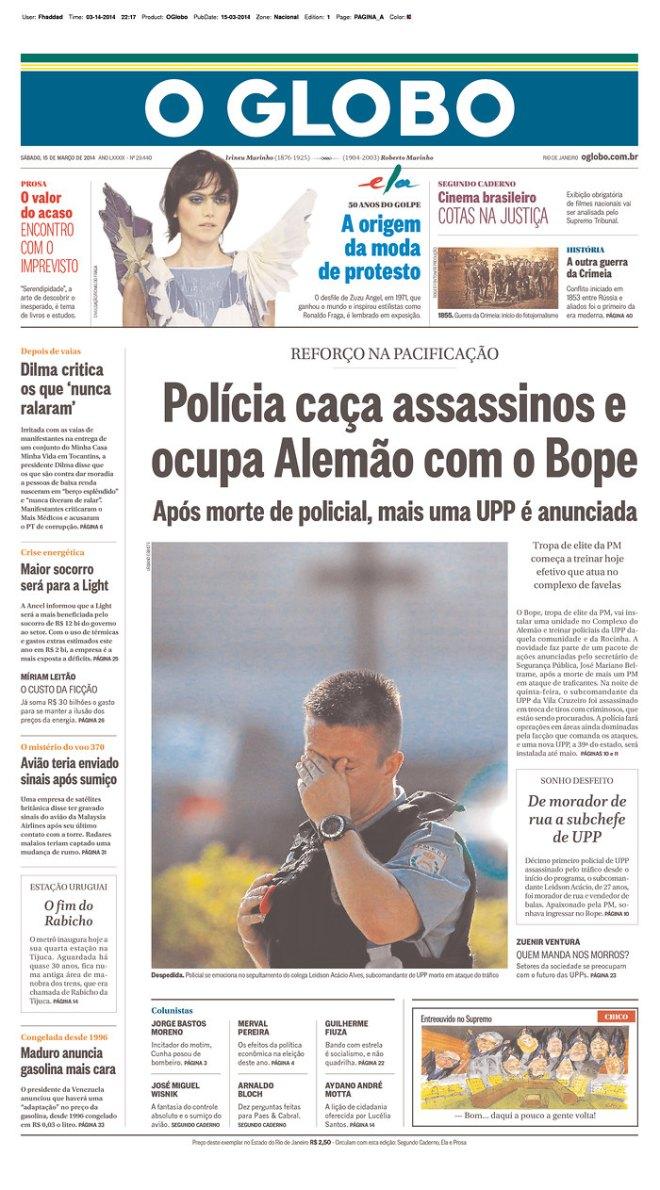 Para vingar a morte de um policial é costumeiro a polícia invadir as favelas. Como fazia a Gestapo: dez execuções por um soldado alemão assassinado