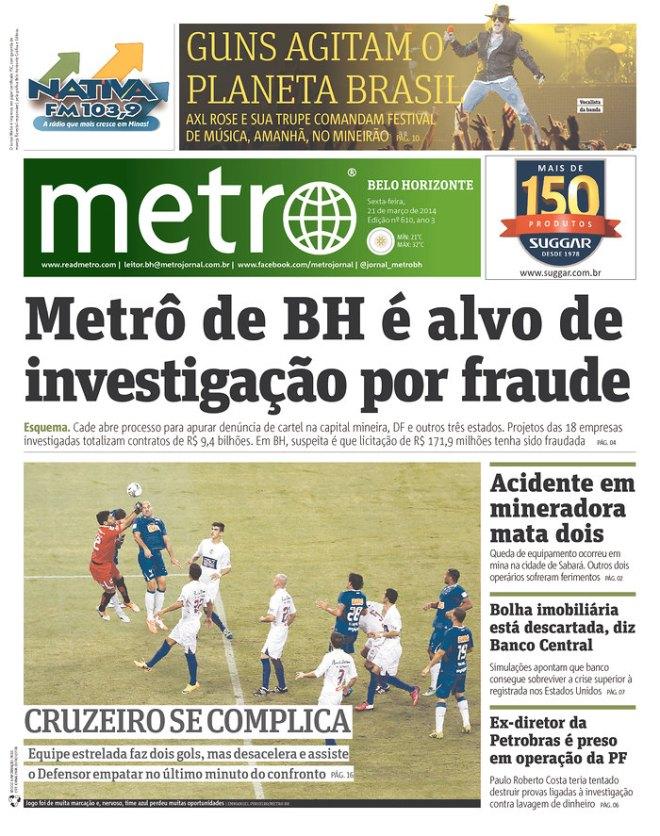 BRA^MG_MET metrô BH roubo corrupção
