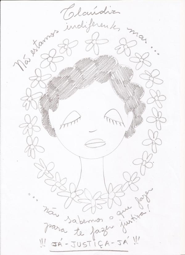 Desenho de FABIANA BATISTA SOUZA no blogue Olga
