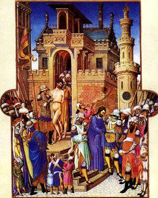 Cristo deixando o praetorium