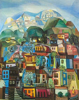 Favela, Di Cavalcanti, 1958