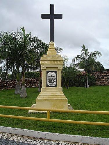 Monumento em memória de Delmiro no local em que foi assassinado