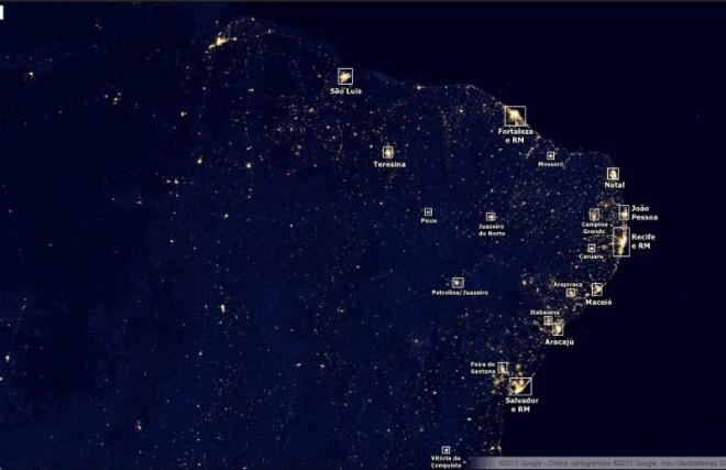 luz nordeste